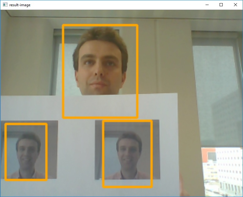 Tracking multiple faces