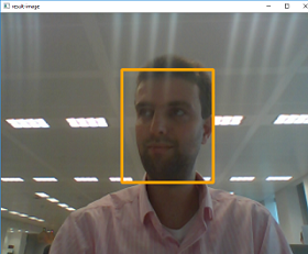 Face detection in action