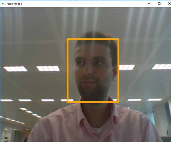Detecting and tracking a face with Python and OpenCV